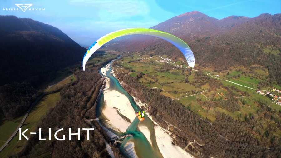 The K-light in the video - 777gliders com