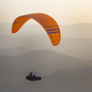 rlight 3 lightweight paraglider en b
